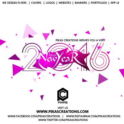 pikas creations welcome to official online studio the ultimate designs wish you a very happy new year