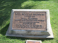 will rogers route 66 monument