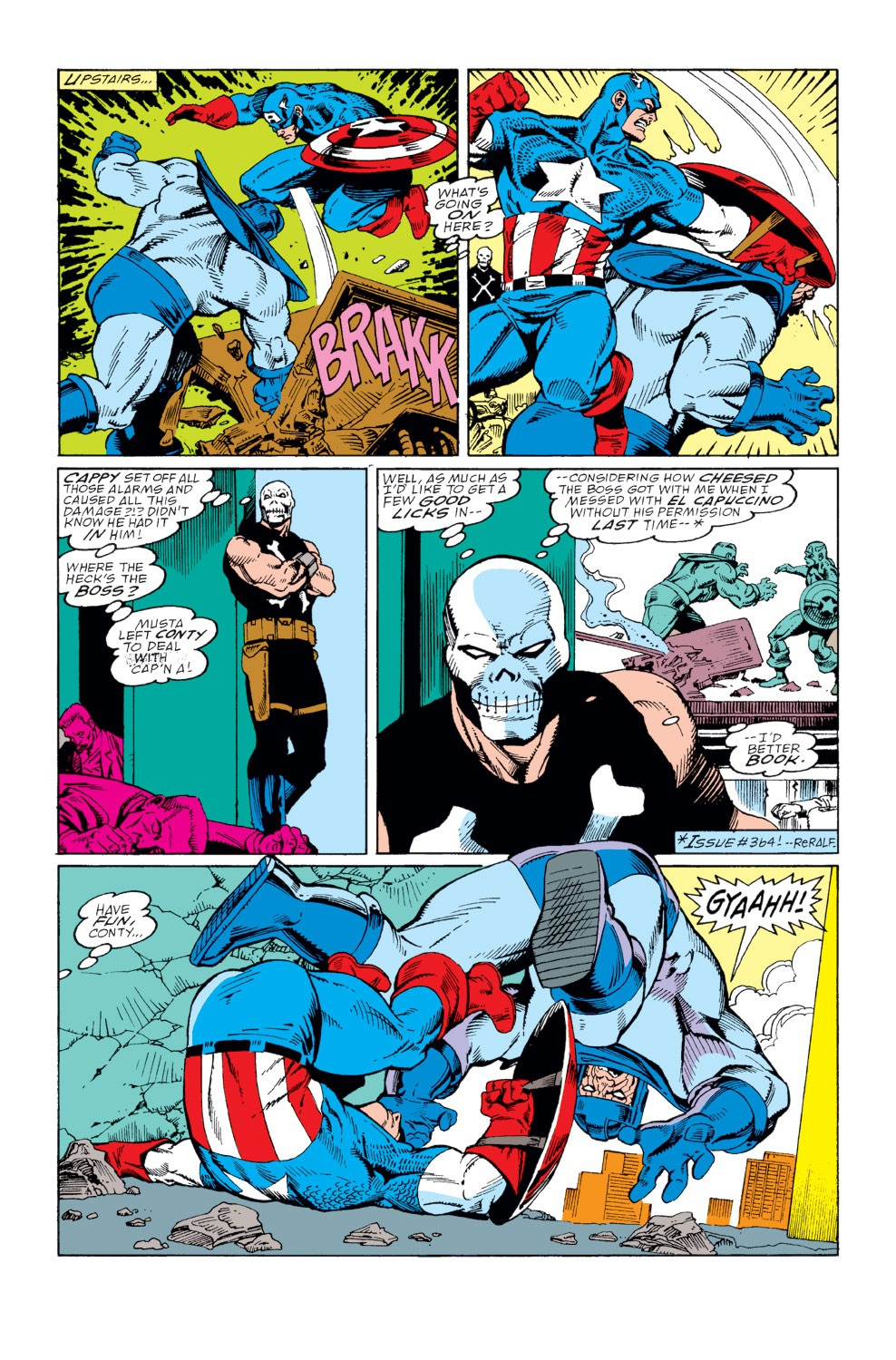 Captain America (1968) Issue #367 #300 - English 12