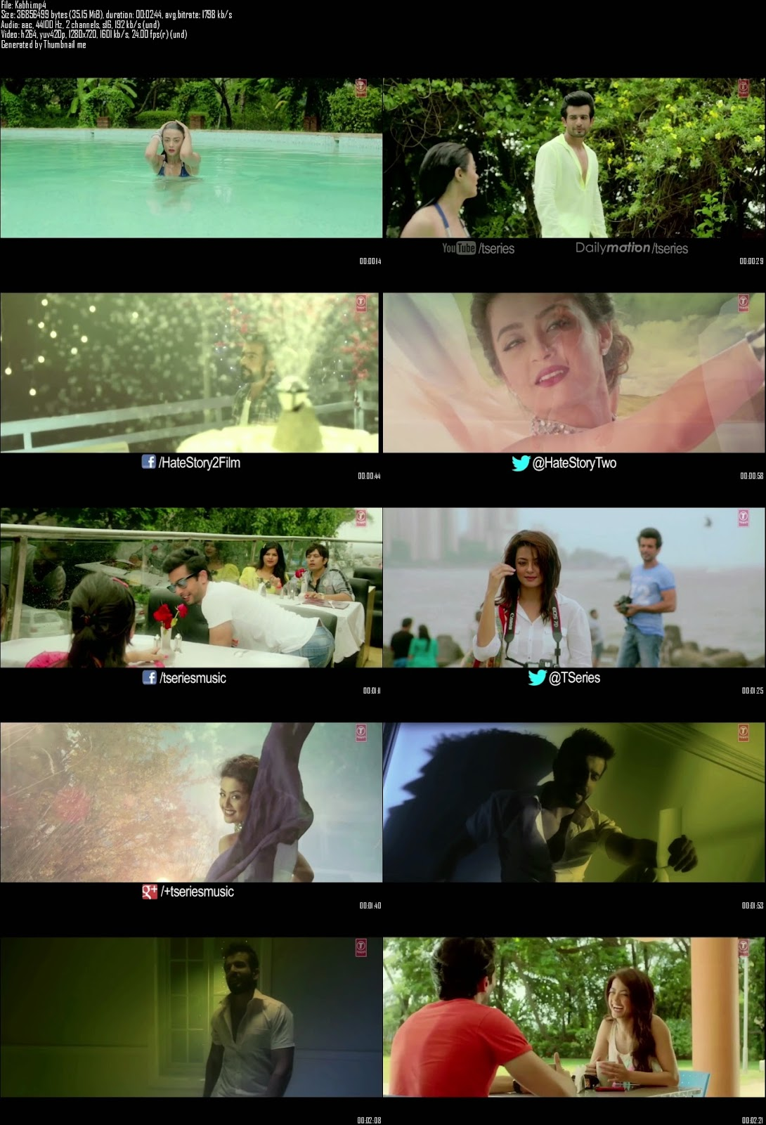 Mediafire Resumable Download Link For Video Song Kabhi Aayine Pe - Hate Story 2 (2014)