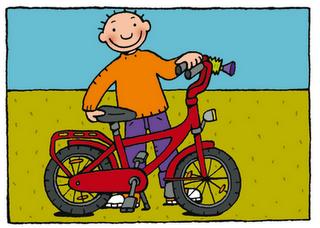 Maandag = fietsdag!