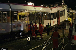 Trains collide Switzerland: 35 people injured