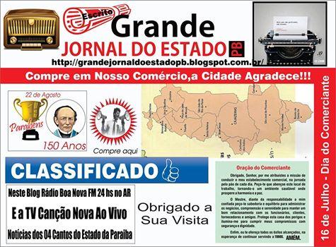 PRIMEIRAS PUBLICAÇÕES  E  BANNER  DESTE NOSSO  SISTEMA