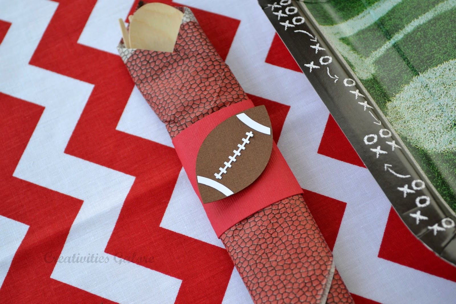 Creativities Galore:: Football Napkin Ring