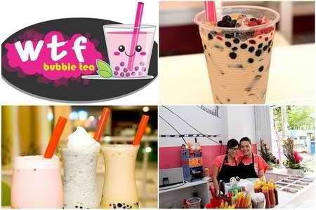 WTF Bubble Tea - Trà sữa ngon theo phong cách của bạn, diem an uong 365