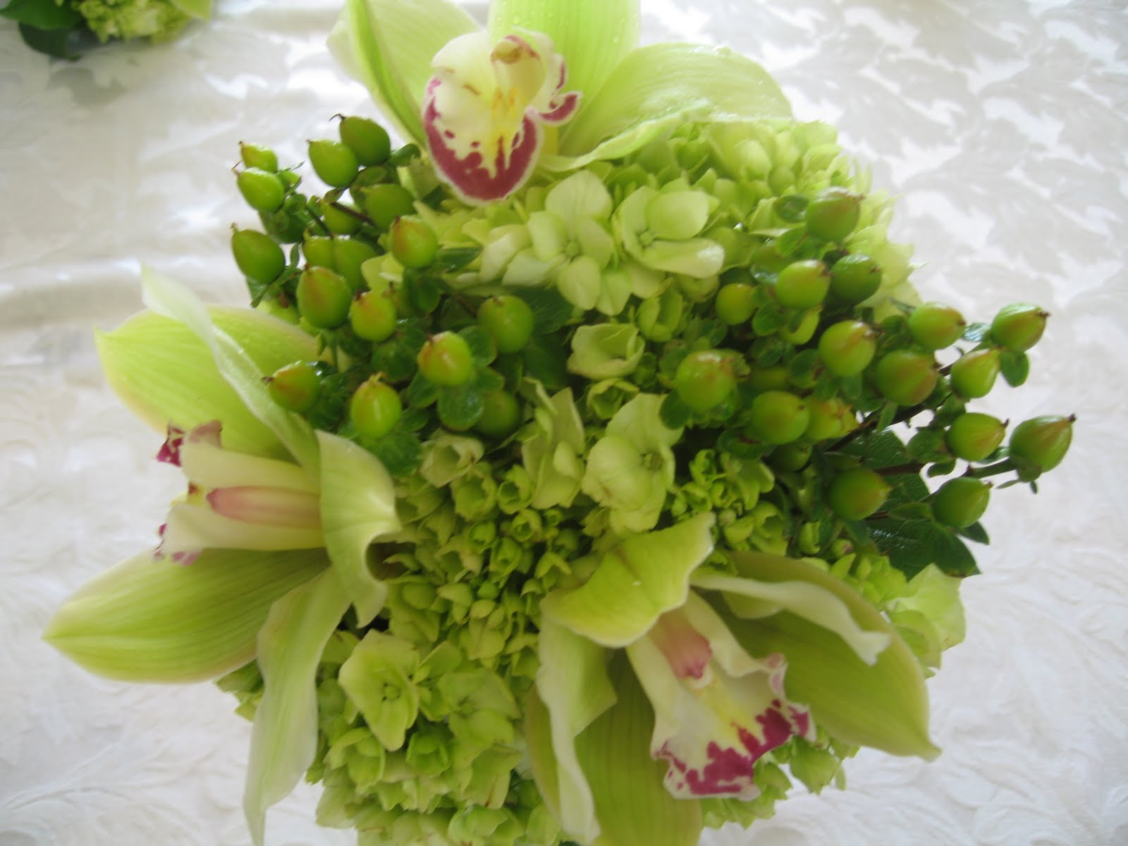 Wedding Flowers Green Wedding Bouquets