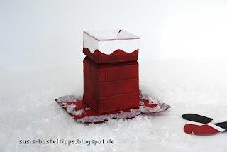 stampin up verpackung zum Nikolaus mit Magicbox