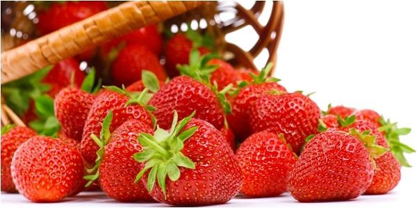 strawberry sumber yodium