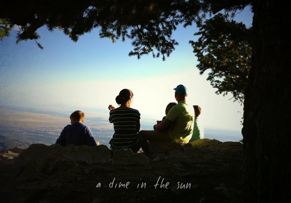 a dime in the sun