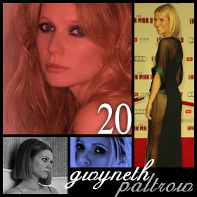 20 Hottest Girls Ever (Part II): 20. Gwyneth Paltrow