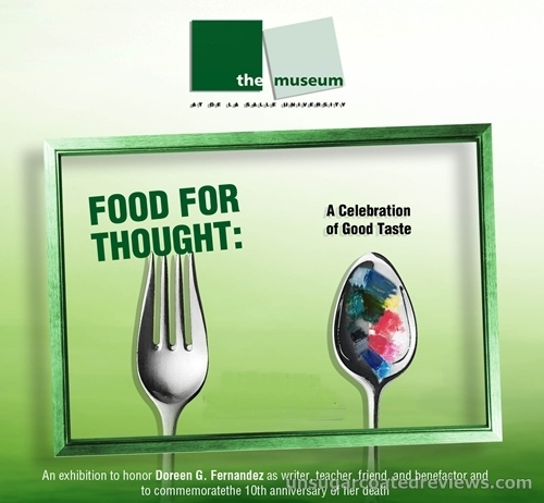 Food for Thought: A Celebration of Good Taste exhibit honoring Doreen Fernandez at The Museum in De La Salle University Manila