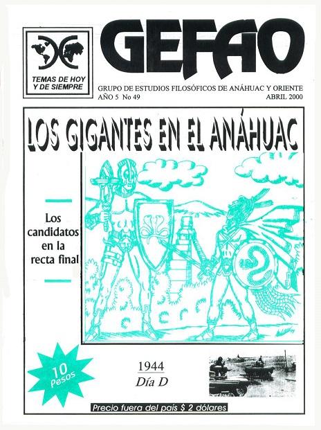 REVISTA GEFAO LOS GIGANTES EN EL ANAHUAC