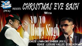 honey singh christmas party 2013