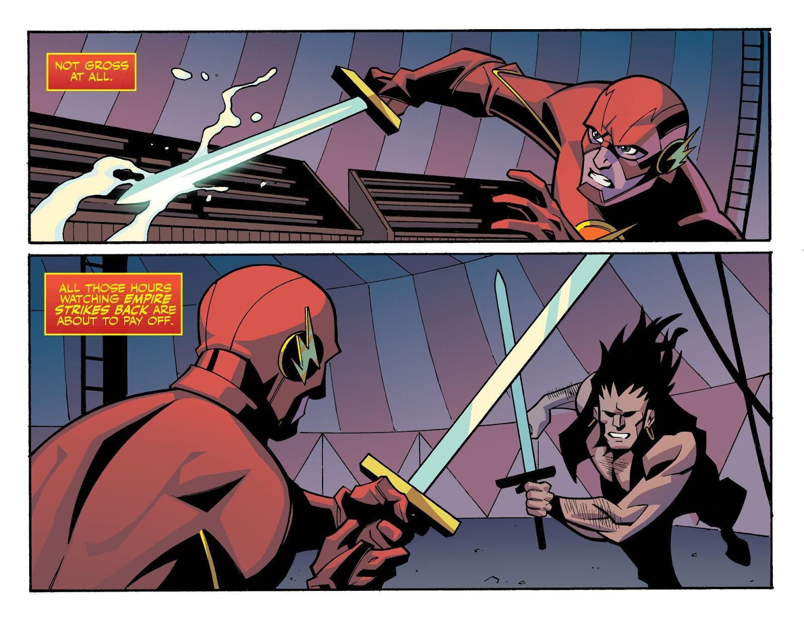The Flash: Season Zero [I] Issue #4 #4 - English 12