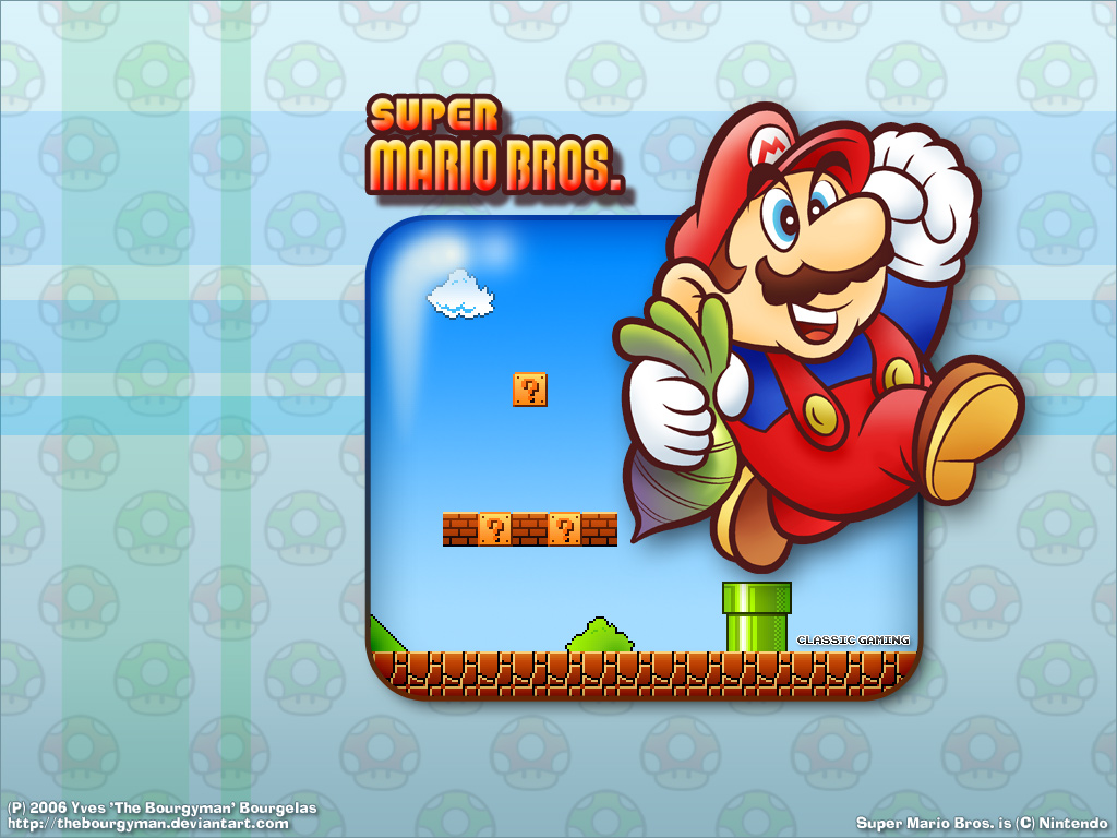 Super Mario HD & Widescreen Wallpaper 0.578718195119701