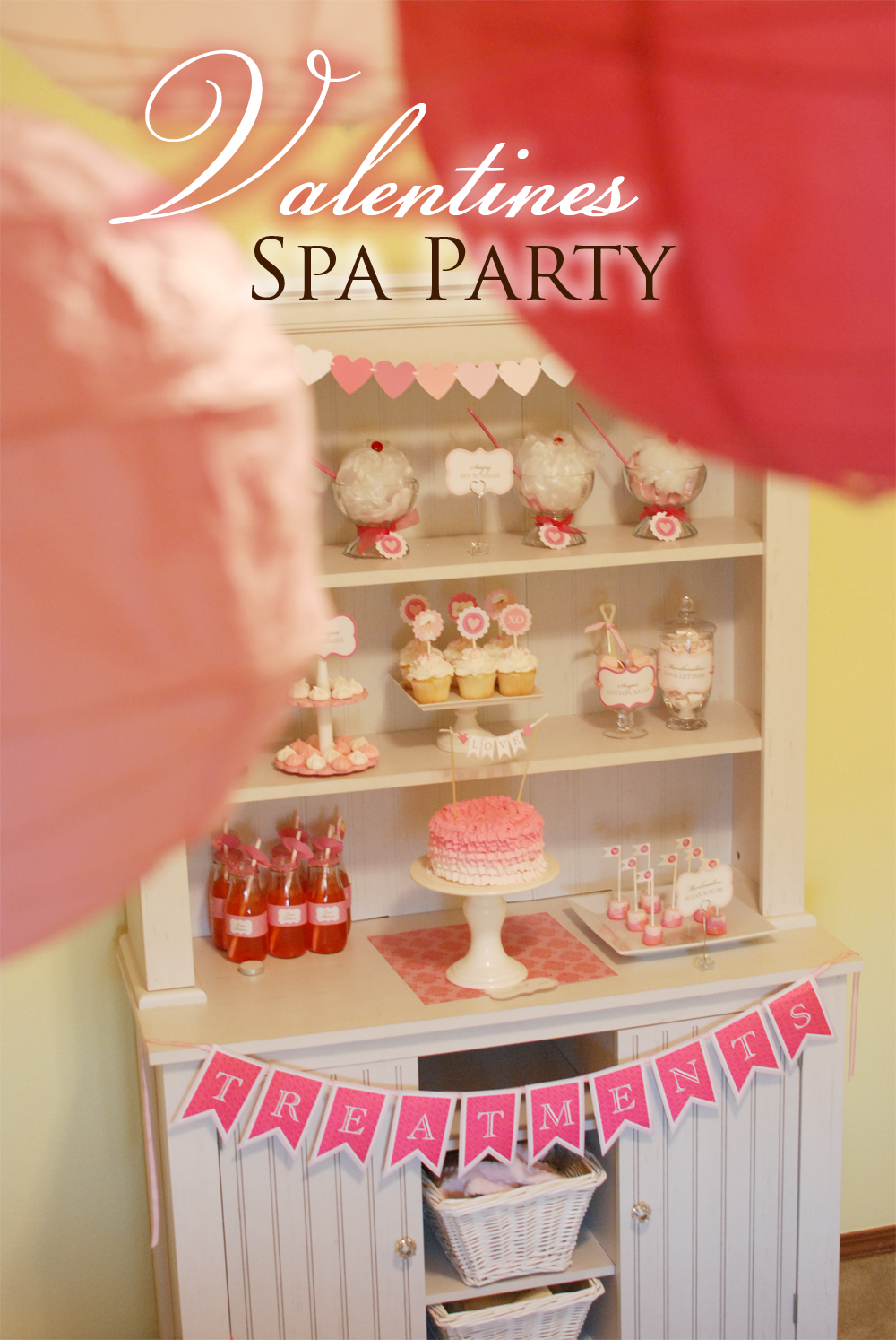 {REAL PARTIES} Valentineu0027s Day Spa