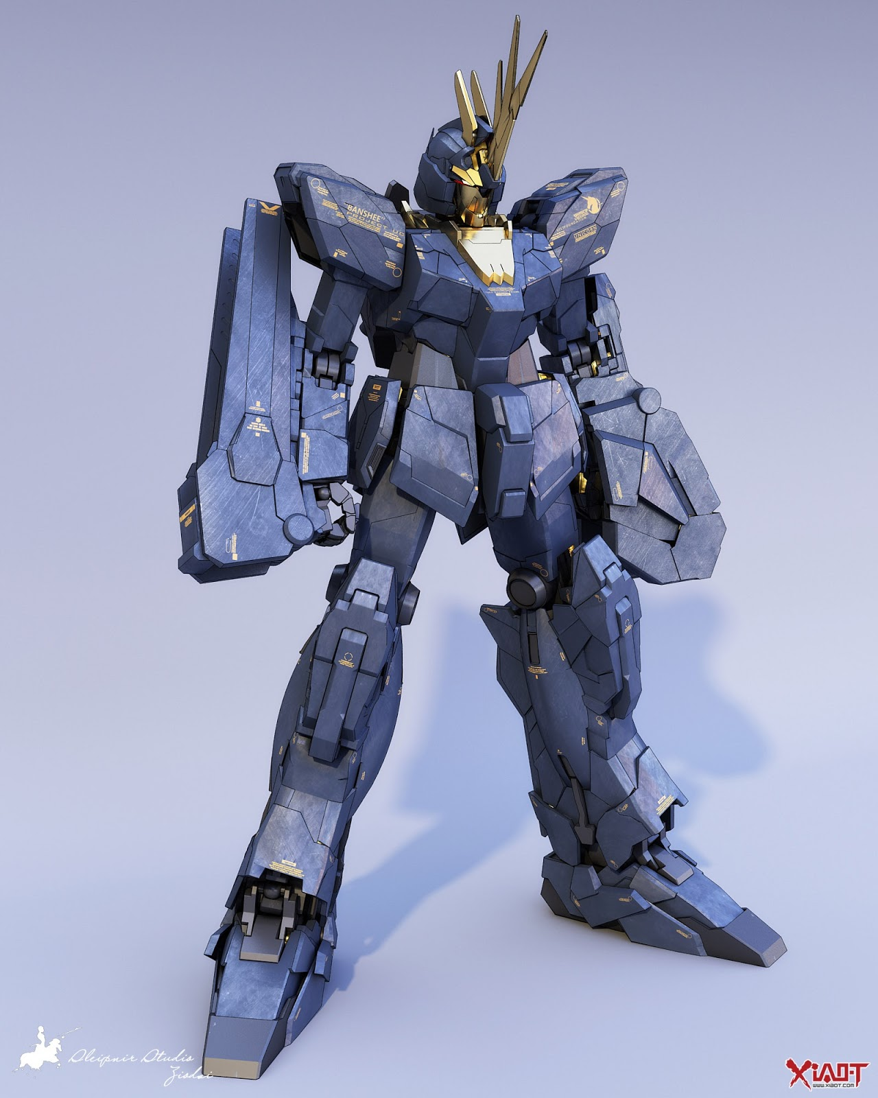 GUNDAM GUY: MG 1/100 Unicorn Gundam 02 Banshee [Anime ...