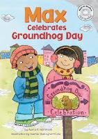 bookcover of MAX CELEBRATES GROUNDHOG DAY  by Adria F. Worsham