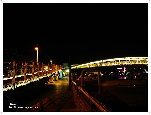 鼓山輪渡站 夜景