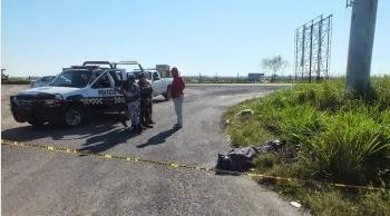 Hallan ejecutado en carretera Coatzacoalcos-Minatitlán