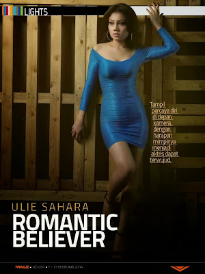 Ulie Sahara Photos from Male Magazine Cover February 2014 HQ Scans