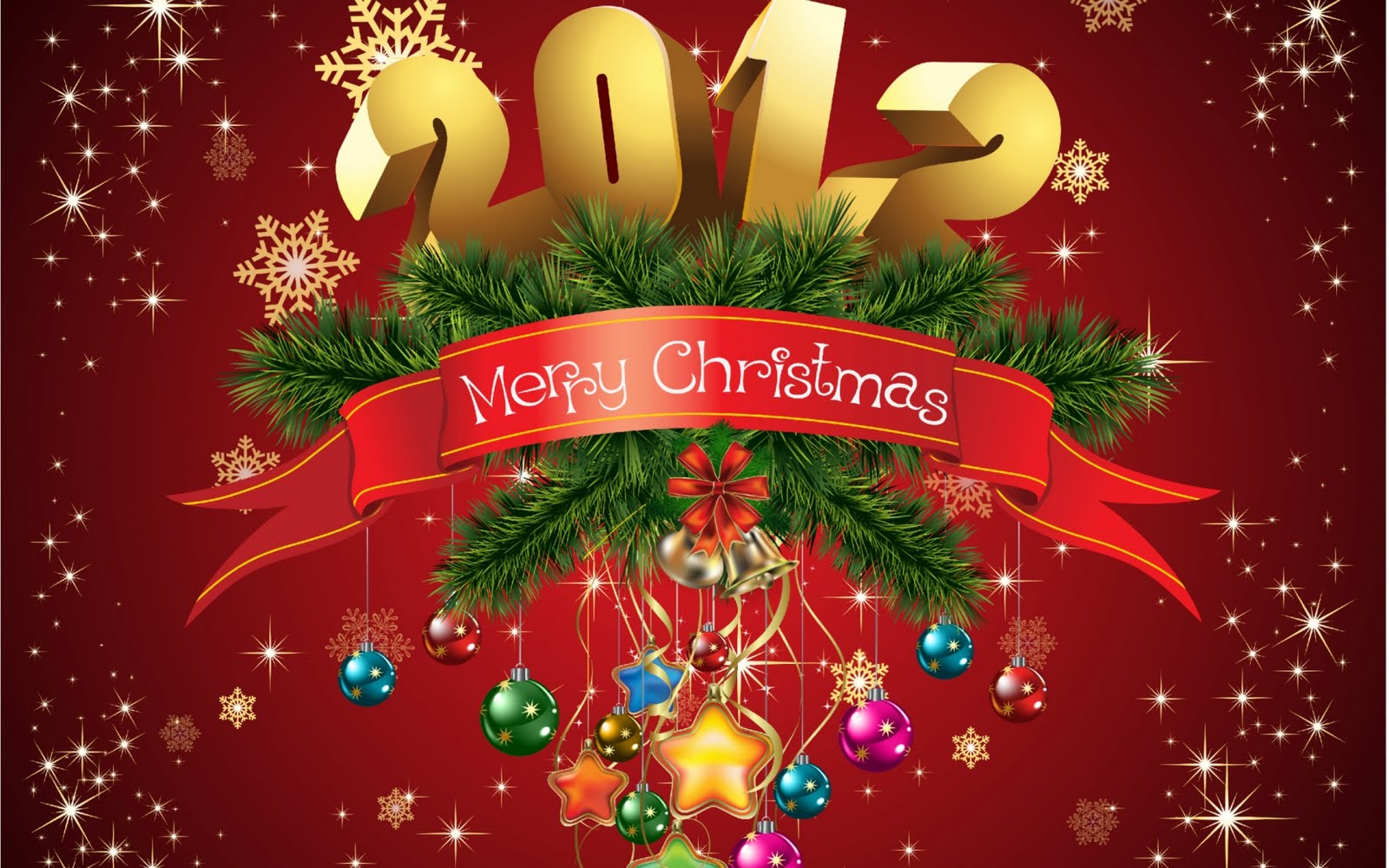 Feliz Navidad - Merry Christmas - Happy New Year 2012