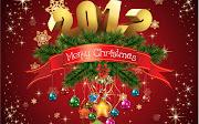 Wallpapers 2012 . Agradecimiento & Feliz año (merry christmas feliz navidad www)
