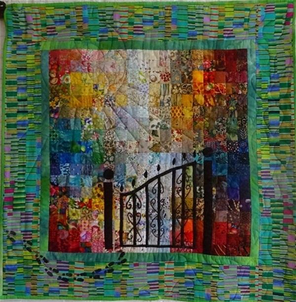 een greep uit mijn gemaakte quilts.