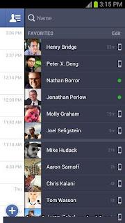 صورة تطبيق برنامج الشات فيسبوك