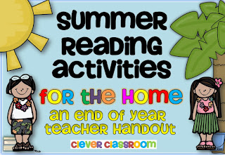 Image of Summer Reading Activities for the home download