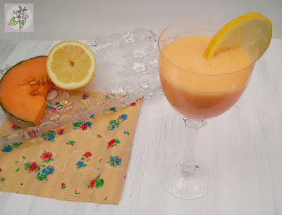 Cóctel de Melon y Naranja