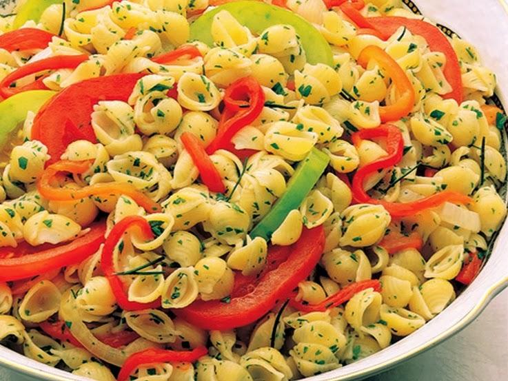 Conchinha com Pimentão e Tomate (vegana)