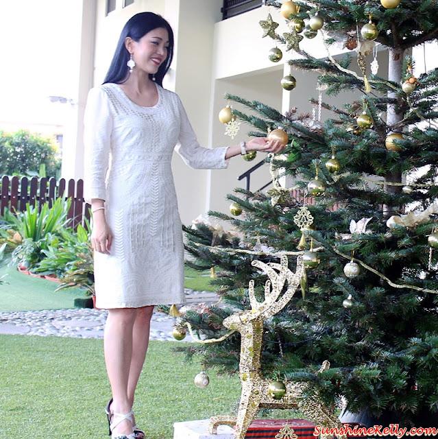 Lady R Cotton Voil Dress, White Christmas, Cotton Voile, Embroidery Dress, Lady R, Lady R online, blogger babes, online shopping, best cotton dress, pure cotton garments, cotton dress from india, indian cotton garments