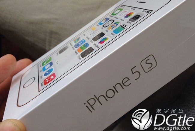 iPhone 5S box
