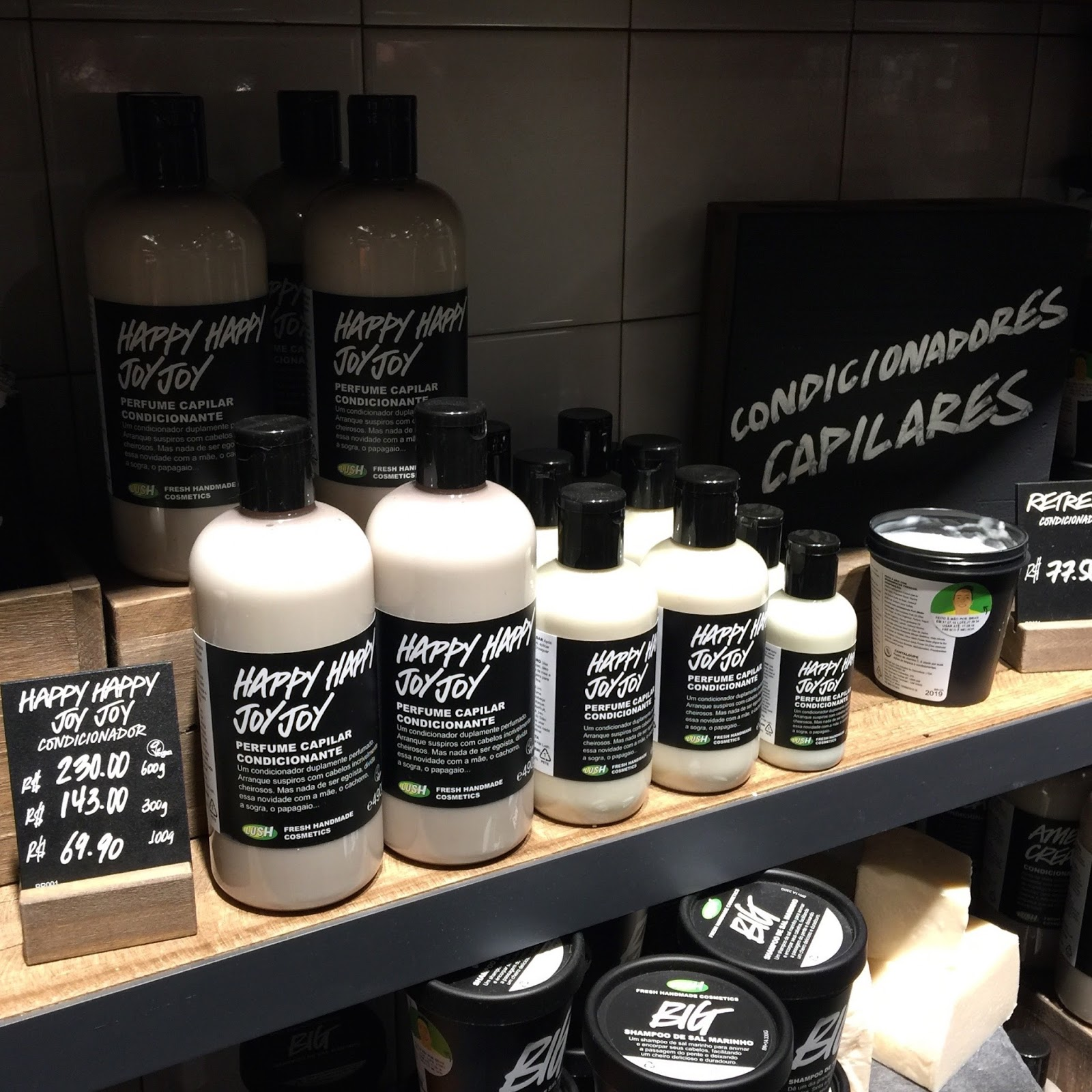 Lush Shampoo e Condicionador
