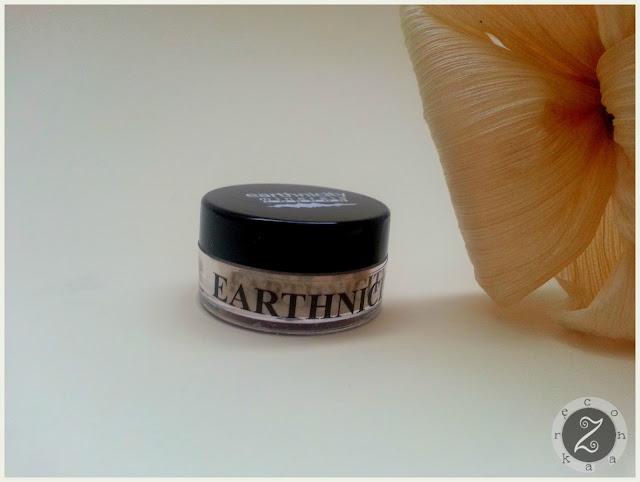 Jedwabny puder wykończeniowy - rozświetlający, Earthnicity