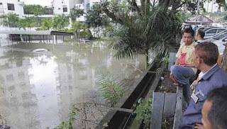 banjir kilat George Town penang 6 april 2013