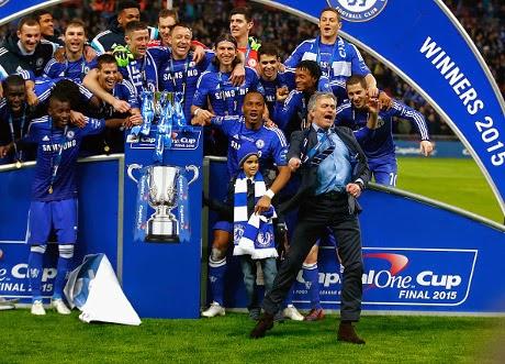 Chelsea Juara Piala Liga Inggris 2015