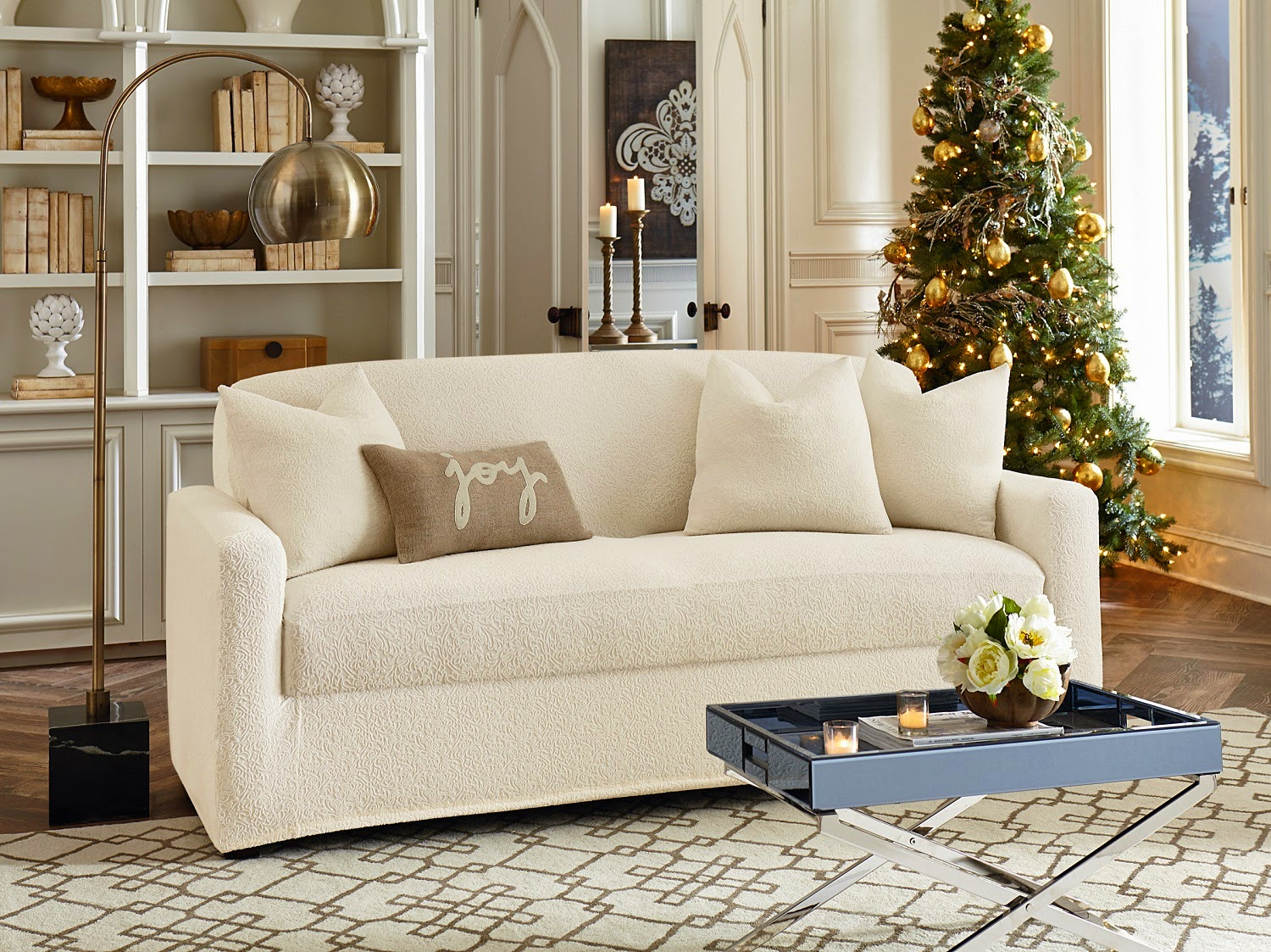 Living Room Chair Slipcovers Sure Fit Slipcovers October 2014