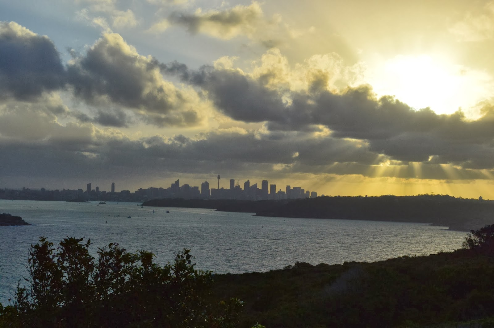 View of Sydney from North Head.