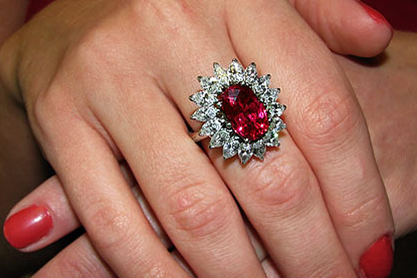 Ruby Diamond Engagement Ring Meaning Ruby Engagement Rings Online