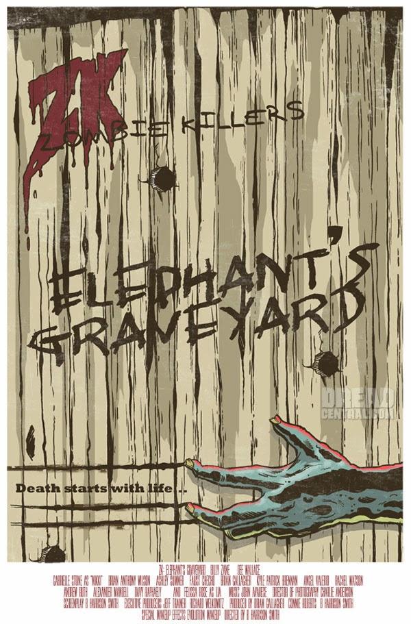 Zombie Killers Elephant's Graveyard, la prima locandina