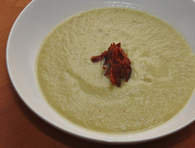 broccoli cauliflower stalk soup