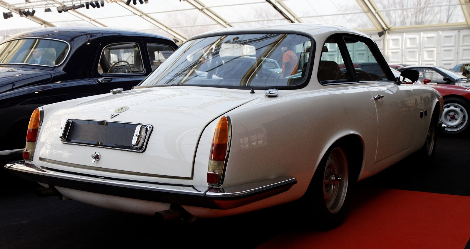 Only 100 GK1s were produced from 1964 through 1968 because the Gordon-Keeble ...