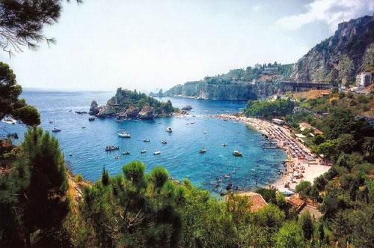 Taormina e l'Isola Bella  (Sicilia)