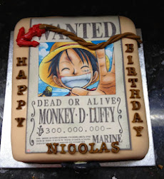 One piece theme cake