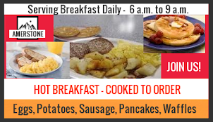 Guests: Start Your Day Right with Hot & Cooked to Order Breakfast!