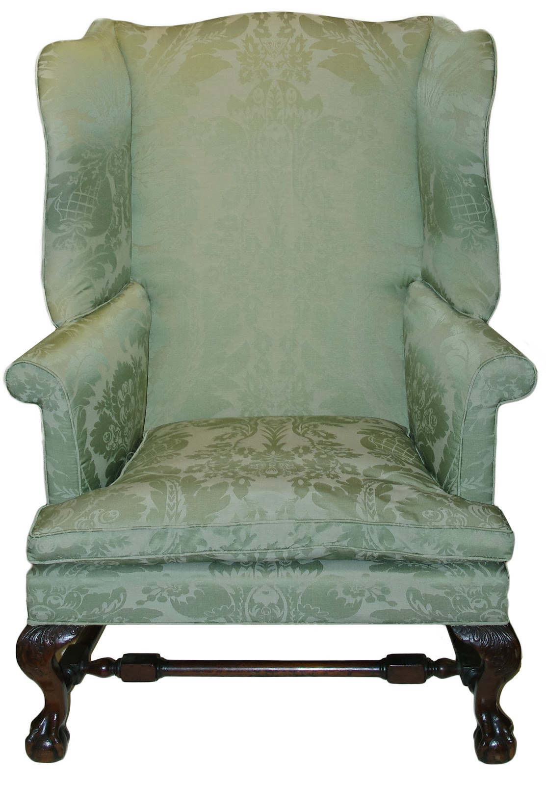 Offering Of The Day: A Chippendale Carved And Figured Mahogany Easy Chair