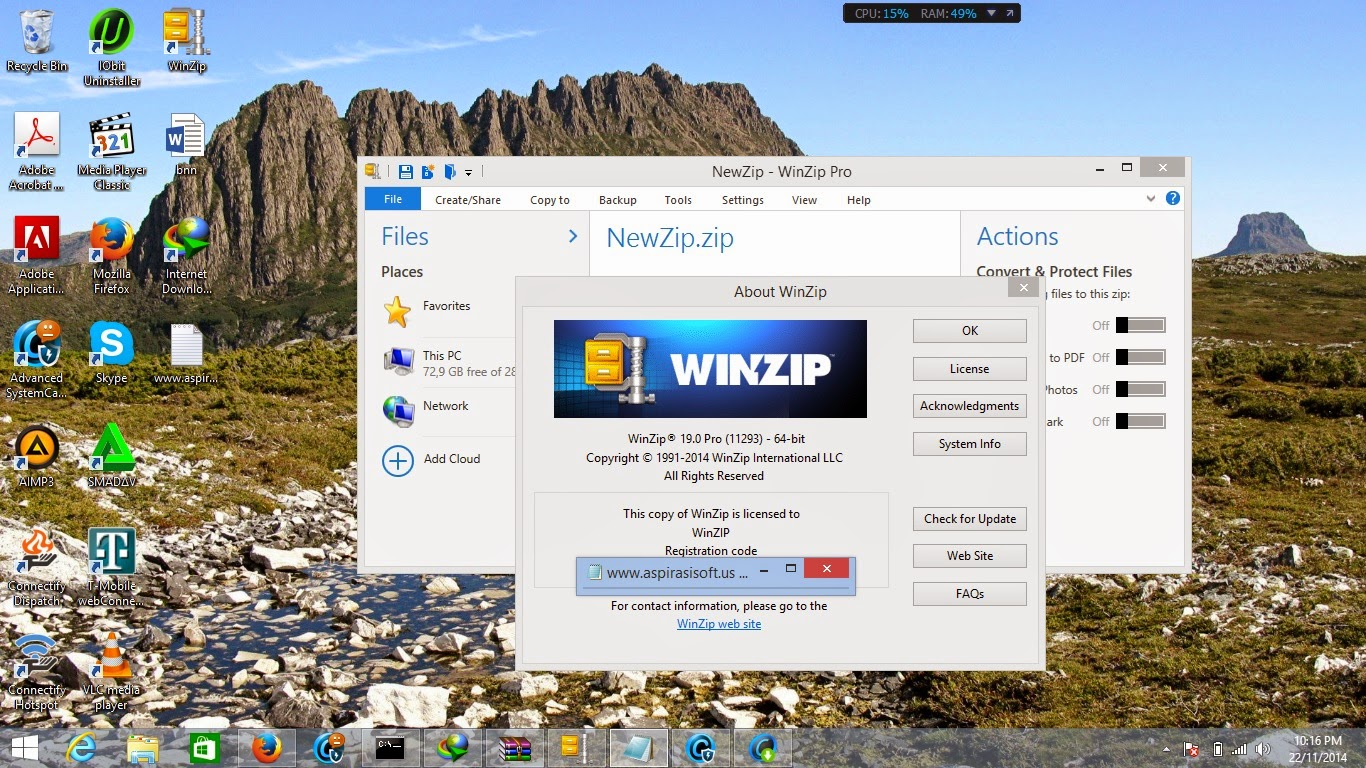 WinZIP Pro 19 Full Serial Number - MirrorCreator