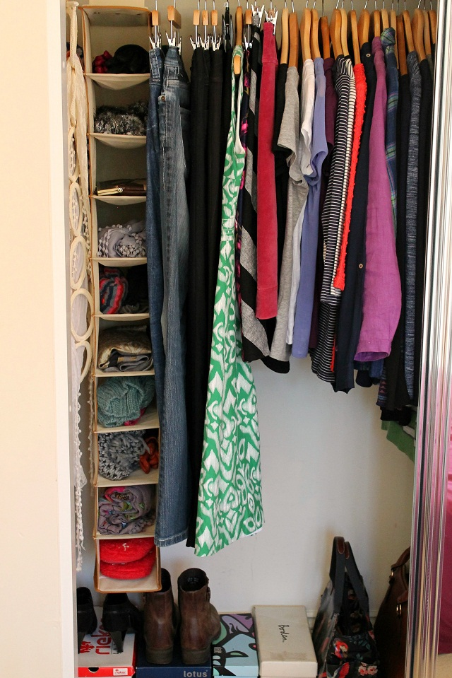 Introducing my 40 piece minimalist wardrobe just a little less - Wardrobe for small spaces minimalist ...